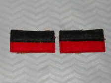 WW1 5th AIF Battalion color patchs=one pair