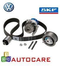 VW GOLF POLO 1.9 TDi Motore Cinghia Di Distribuzione Kit Pompa Acqua CAMBELT catena per SKF