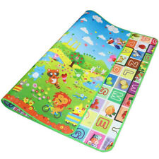 Reversible Kids Activity Mat Baby Children Crawling Care Playmat Foam Rug 2 Side