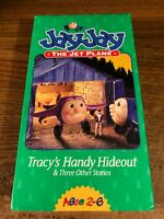 JayJay The Jet Plane Tracy's Handy Hideout VHS VCR Video Tape Used VERY RARE