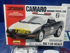 Lindberg Z28 Camaro Highway Patrol Car 1/20 Kit