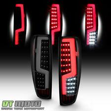 Black Smoke 2004-2012 Chevy Colorado GMC Canyon LED Tube Tail Lights Lamps 04-12