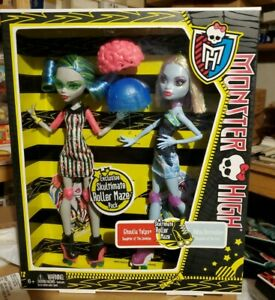 MONSTER HIGH SKULTIMATE ROLLER MAZE GHOULIA YELPS ABBEY BOMINABLE EXCLUSIVE DOLL