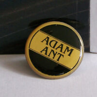 Rare Vintage Pin Metal Pinback 1980s 80s Retro New Wave Adam Ant Backward Enamel