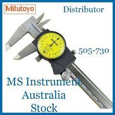 New Genuine Mitutoyo 505-730 Dial Caliper 150mm   Australia Stock
