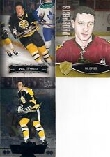 BOSTON BRUINS Phil Esposito 3 Card Lot Parkhurst Black Diamond & H&P