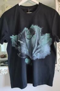 All Saints Quietus Tee Shirt/Top Size M BNWT in Black £45