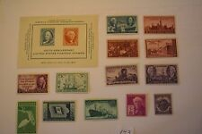 1946 1947 Complete USPS MNH Lot# 143 S# 939-952 3 cent