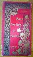 GENS DE TOUS TEMPS ET DE TOUS PAYS J. Gauvin vers 1918 . livres enfants anciens
