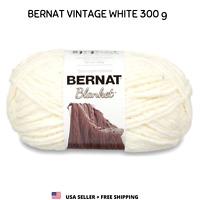 Yarn Vintage White 161110 Bernat Blanket 10.5oz 220 yds Blanket Bulky