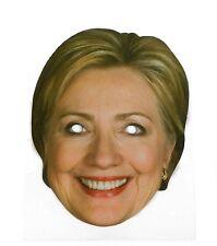 Hillary clinton célébrité visage masque