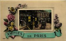 CPA Amitiés de Paris 9e - Bd des Italiens (301742)