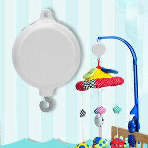 Baby Crib Bed Bell Toy with Rotating Musical Mobile Rotary Music Box Plays