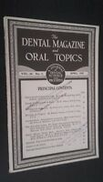 The Dental Revista Y Oral Topics Vol.64 N º 1 Abril 1947
