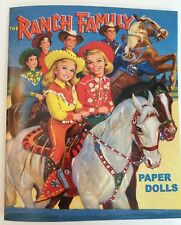 *New!* The Ranch Family Paper Dolls - A colorful wardrobe for the whole family!