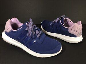 Adidas Element Refresh Womens Size 9.5 Purple Athletic Training Running Shoes