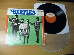 LP Beatles Amiga 850040 Trommelcover grün Misprint -Version! + Bagpipe DDR 1965