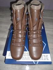 HAIX COLD WET WEATHER BROWN LEATHER WOMENS GORETEX BOOTS SIZE 15M BRITISH ARMY