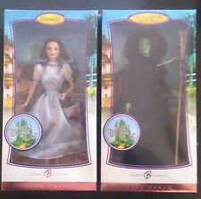 Barbie Wizard of Oz Dolls Pink Wicked Witch & Dorothy Brand New  2006 Collectors
