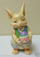 MWB! 2013 Jim ShoreHappy Easter Wishes Pint Sized Bunny Egg wHearts #4037676
