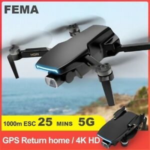 FEMA HD 4K 5G WiFi 1Km GPS RC Brushless Professional Camera FPV Quadcopter Drone