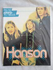 HANSON TEAR OUT PHOTO BOOK en anglais avec 20 SUPERBES PHOTOS