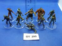RPG/Rol/Modern, Apocalypse - Zombis Variados de Zombicide x10 Pintados - OT295