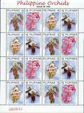 Philippinen 1999 Mi. 3108-11 ** MNH Orchideen Orchids Kleinbogen
