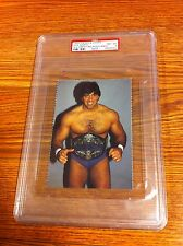 1985 Wieser & Wieser Rick Martel Wrestling Postcard PSA 8 WWF WWE NWA AWA WCCW