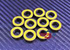 Tamiya 1680 Rubber Sealed Ball Bearings (10 PCS) YELLOW 8x16x5 688-2RS 8*16*5