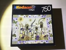 750 Piece Kodacolor Collages Puzzle - Bird Houses in Bloom - factory sealed