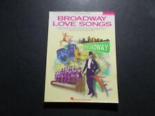 * Broadway Love Songs 2Nd Edition Songbook-piano-vocal-Guit ar-