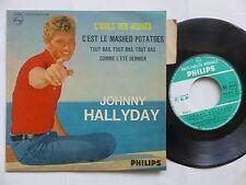 JOHNNY HALLYDAY L idole des jeunes 432810 BE Imprim Colombey 112