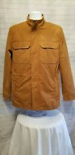 George Mens Small 34-36 Long Sleeve Field Zippered Jacket.