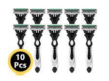 10 pcs DORCO Pace6(SXA100) Disposable Razor,Pace 6, 6 Blade Shaving System, Men