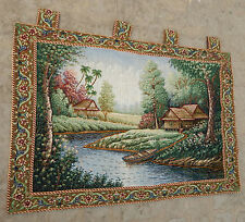 Vintage French Beautiful Scene Tapestry 100X68cm (A565)