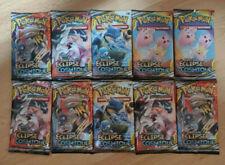 Lot de 10 Boosters Pokemon SL12 Eclipse Cosmique Neufs et Scellés (Français)