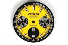 Dial for Citizen 8110 automatic bull-head chronograph - 123739