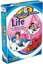 Once Upon A Time Life-The Fantatic Story Of The Hu - 4 DISC S (REGION 1 DVD New)