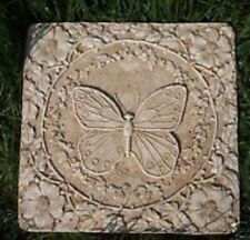 Butterfly stepping stone mold heavy duty plastic garden mould