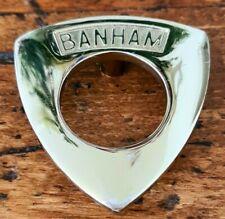 Brass Banham Lock Key Plate