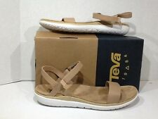 Teva Terra-Float Nova Lux Women's Size 9.5 W Brown Leather Sandals Shoes SS-16