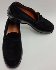 Tods Shoes Drivers Loafers Black Slip-On Italy Womens Size 6.5