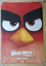 ANGRY BIRDS Double Sided Authentic Movie Poster 27x40