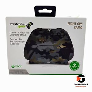 Controller Gear Night Ops Camo Special Edition - Xbox Pro Charging Station