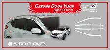 Chrome Weather shields Window Visors 6p for 06/2017 ~2019 All New Honda CR-V CRV