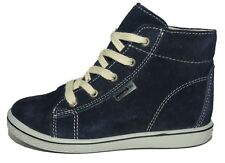 Ricosta Boys Zayni SympaTex Dark Blue Suede Lace-up Boots UK 7.5 EU 25 US 8 Wide