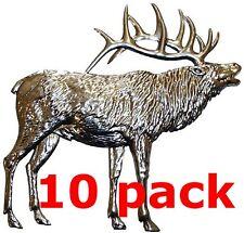 """Metal Stampings Elk Wapiti Land Mammal Deer Family Steel .020"""" Thickness A12"""