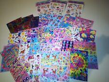 Huge Lot Vintage Lisa Frank Stickers Lot  30 Sheets