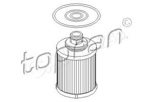 TP Oil Filter Fits FORD Ka OPEL Agila Astra Combo Corsa Meriva Tigra 1539601